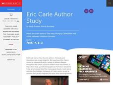 Eric Carle Author Study Activities & Project