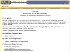 Erosion Lesson Plan