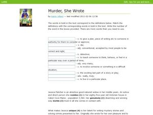 murder mystery lesson plans worksheets reviewed by teachers. Black Bedroom Furniture Sets. Home Design Ideas