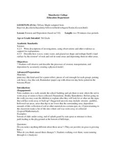 Erosion and Deposition Lesson Plan