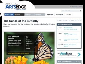 The Dance of the Butterfly Lesson Plan