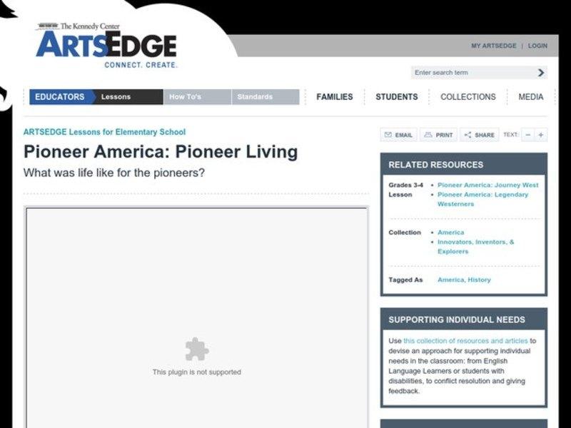 pioneers lesson plans worksheets lesson planet. Black Bedroom Furniture Sets. Home Design Ideas