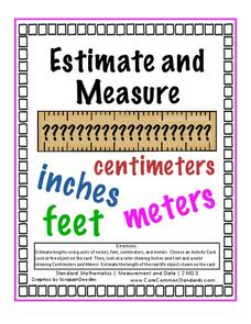 Estimate and Measure Activities & Project
