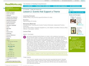 Events That Support a Theme Lesson Plan