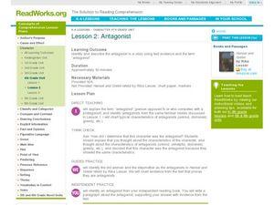 protagonist and antagonist worksheet pdf
