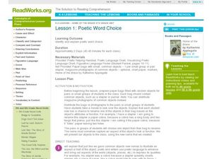 Poetic Word Choice Lesson Plan