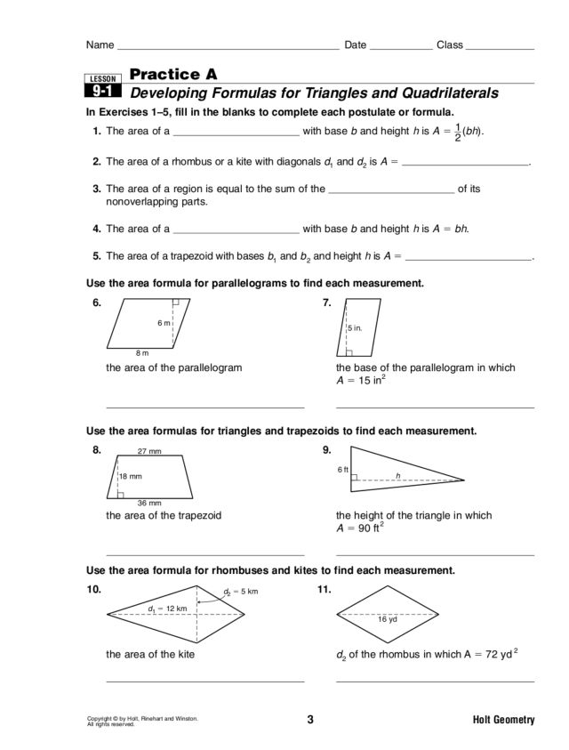 Area Of Triangle And Quadrilaterals Worksheet Answers 7263136. Area Of Triangle And Quadrilaterals Worksheet Answers. Worksheet. Quadrilaterals Worksheet With Answers At Clickcart.co