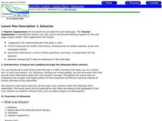 Estuaries Lesson Plan