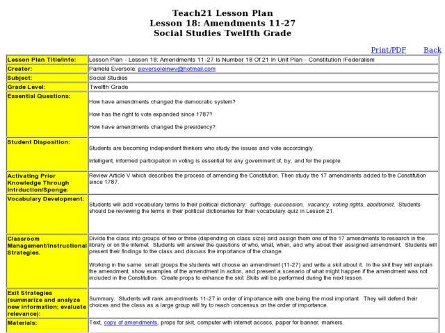 Bill of rights worksheet quizlet