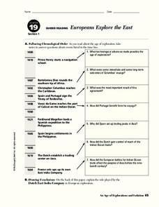 european age of exploration worksheets reviewed by teachers. Black Bedroom Furniture Sets. Home Design Ideas