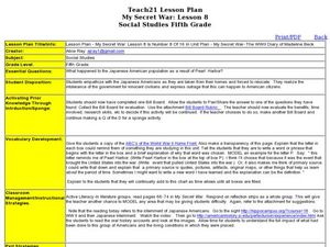 japanese internment camps lesson plans worksheets lesson planet. Black Bedroom Furniture Sets. Home Design Ideas