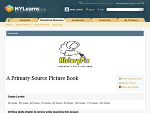 A Primary Source Picture Book Lesson Plan