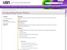Evaluating Floor Plans Lesson Plan