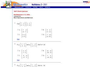 matrix multiplication lesson plans  worksheets  lesson planet matrix multiplication dimensions