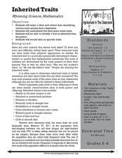 Inherited Traits Worksheet Worksheets for all | Download and Share ...