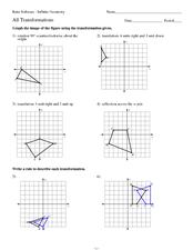 Rigid Transformations Worksheet - Best Worksheet