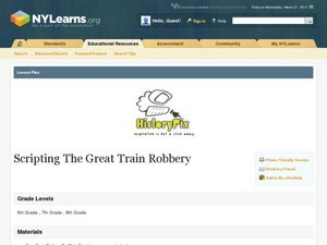 Scripting The Great Train Robbery Lesson Plan