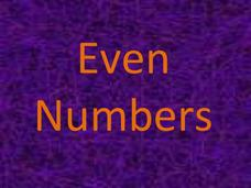Even and Odd Numbers Presentation