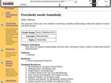 Everybody Needs Somebody Lesson Plan