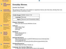 Everyday Heroes Lesson Plan
