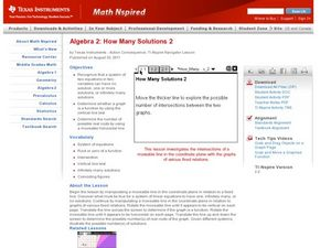 How Many Solutions 2 Lesson Plan