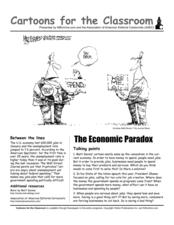 Cartoons for the Classroom: The Economic Paradox Worksheet