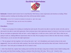 Exciting Expressions Lesson Plan