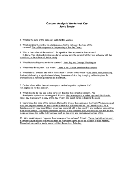 handout 1 cartoon analysis worksheet answers. Black Bedroom Furniture Sets. Home Design Ideas