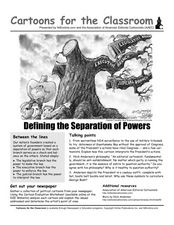 Worksheets Separation Of Powers Worksheet cartoons for the classroom defining separation of power 8th worksheet
