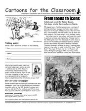 Cartoons for the Classroom: From Toons to Icons Worksheet