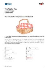 The Wolf's Tale Extension 2 Worksheet