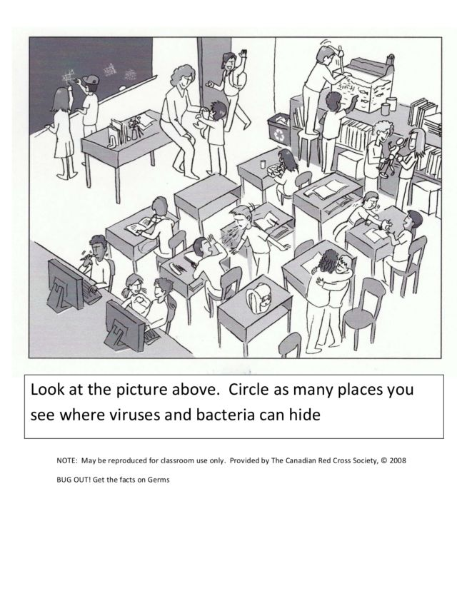 Virus And Bacteria Worksheet Worksheet For 3rd 10th