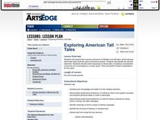 Exploring American Tall Tales Worksheet