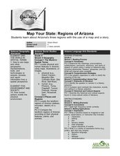 Map Your State: Regions of Arizona Lesson Plan