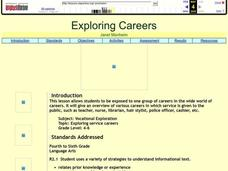 Exploring Careers Lesson Plan