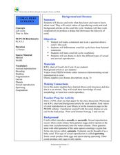 Coral Reef Ecology Lesson Plan