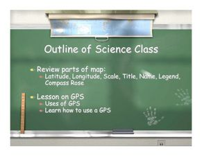 Lesson on GPS Lesson Plan