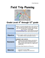 Field Trip Planning Lesson Plan
