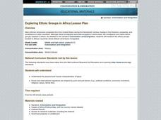 Exploring Ethnic Groups in Africa Lesson Plan