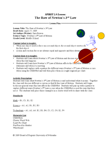 newton laws with marbles lesson plans worksheets. Black Bedroom Furniture Sets. Home Design Ideas
