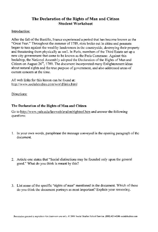 Citizenship In The Nation Worksheet Worksheet – Citizenship in the Community Worksheet