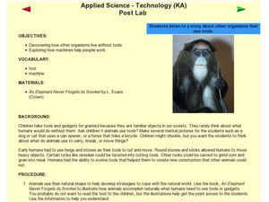 Applied Science-Techonology Post Lab Lesson Plan