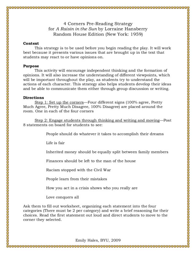 a raisin in the sun academic essay A raisin in the sun authors that have written all nonfiction bullying books academic author interviews celebrity interviews college articles this essay was.
