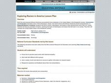 Exploring Racism in America Lesson Plan