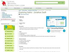 Exploring Satire - Jonathan Swift Lesson Plan