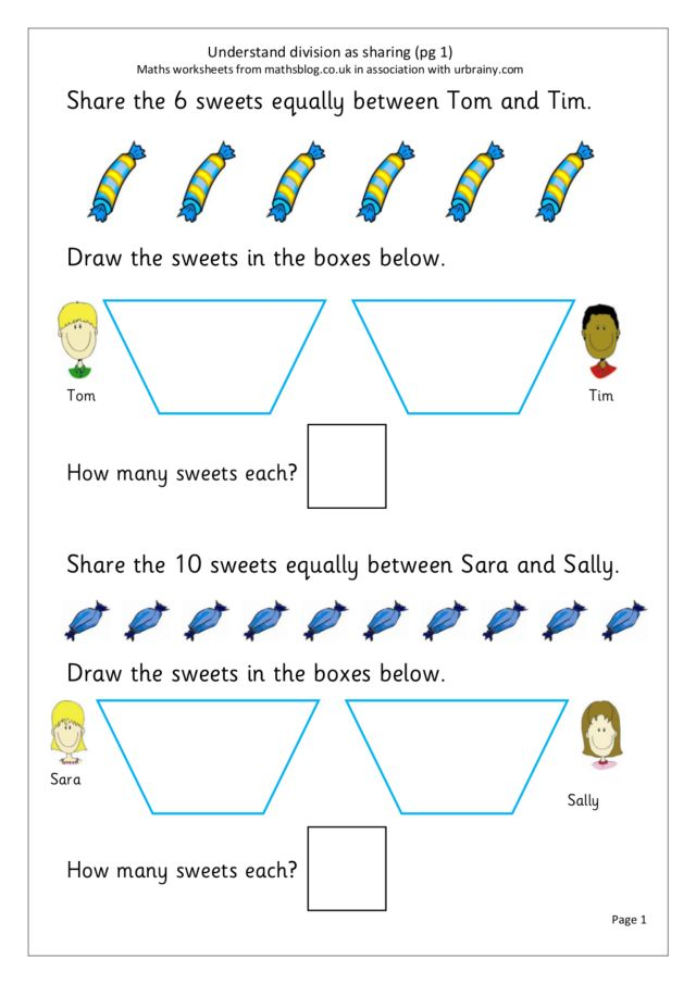 understand division as sharing worksheet for 2nd 3rd grade lesson planet. Black Bedroom Furniture Sets. Home Design Ideas