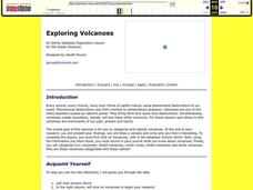 Exploring Volcanoes Lesson Plan