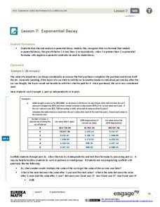 Depreciation worksheet for students