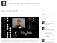 Exponential Growth Video