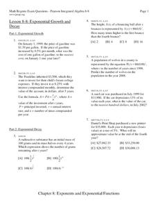 Exponential Growth and Decay Worksheets wonderful image collections